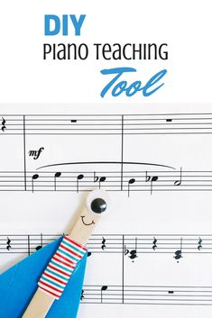 Get your very young piano students excited about score study and theory with this DIY tool Piano Teaching, Teaching Tools, Learning Piano, Teaching Ideas, Teaching Resources, Piano Lessons, Music Lessons, Piano Games, Piano Music