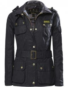 Women's Barbour International Waxed Jacket | JULES B