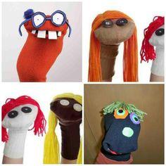 Sock puppets