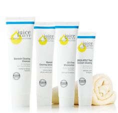 3 FREE Juice Beauty Blemish Clearing Oil Control Skincare Samples