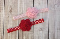 Camellia Headband/Felt Flower Headband/Baby Headband, Newborn Headband, Infant Headband, Toddler Headband on Etsy, $6.00