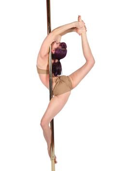 GOAL Ballerina (Advanced) Pole Fitness Move from Studio Veena
