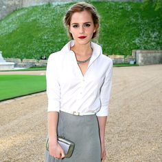 Emma Watson - so gorgeous!  Prince William Hosts Emma Watson, Cate Blanchett, Kate Moss at Party - Us Weekly