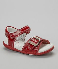 Another great find on #zulily! Red Maggie Sandal #zulilyfinds