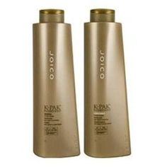 Amazon.com: Joico K-Pak Reconstruct Shampoo & Conditioner 33.8 Oz. 2PK: Beauty - This is supposed to be great for people who color their hair.
