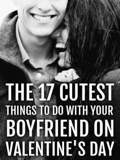 Valentine's Day is approaching and you're probably in need of some date night ideas, here are 17 of the cutest things to do with your boyfriend on Valentine's Day. My Funny Valentine, Cute Valentines Day Ideas, Valentines Day Date, Valentine Gifts, Things To Do With Your Boyfriend, Bae, Romance, Love Days, Lovey Dovey