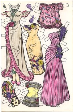 Paper Doll | KATY KEENE SEND AWAY PAPER DOLLS #1 | Marges8s Blog