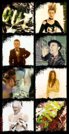 David Bowie, Outside photo shoot, 1995.