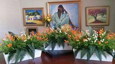 Jardineras, deco elementos en arrglos  florales
