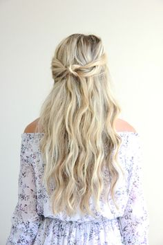 Music festivals are usually super hot, so I like to tie half of my hair up  to keep it off of my face. I am going to share how to create this  half-upromantic twisted bun tutorial using the TRESemmé Perfectly (Un)Done  Sea Salt Spray and TRESemméPerfectly (Un)Done Ultra Brushable Hairspray.  When your hair is wet, spray TRESemmé Perfectly (Un)Done Sea Salt Spray  throughoutto prepare your locks for the effortless undone beach waves you  will be looking foronce your hair is dry. Once…