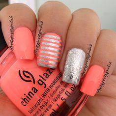 Instagram photo by prettynailsbyjamie #nail #nails #nailart