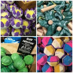 Anything from Lush Oxford Street Store :p Lush Oxford Street, Lush Aesthetic, Lush Products, Beauty Products, Lush Store, Shower Jellies, Shower Bombs, Shower Steamers, Lush Bath Bombs