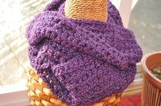 Infinity Scarf Purple by #BellaHenryBoutique on Etsy, $30.00