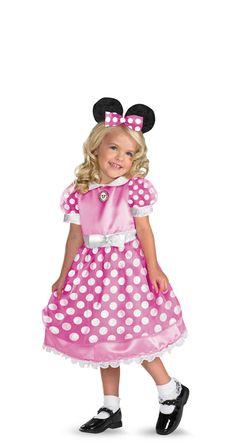 Disguise ディズニー クラブハウス ミニーマウス ピンク  の画像