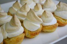 Two-Bite Lemon Meringue Pies