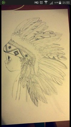 #draw #my #indian