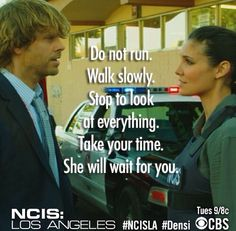 """At the end of the last episode, """"Three Hearts,"""" Deeks has taken his Gurkha friend's advice in """"The Frozen Lake."""" He has stopped """"to look at everything"""" and be patient because he doesn't want just a """"thing"""" with Kensi; he wants a real commitment from her. He wants a true """"love story""""! And, he hopes, knows that she'll be waiting!"""