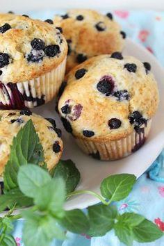 Bajkorada: Muffinki z jagodami