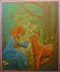 Chalkboard drawing - fairytale - first grade - waldorf