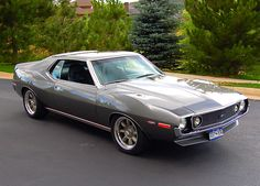 AMC Javelin - Don't mess with auto brokers or sloppy open transporters. Start a life long relationship with your own private exotic enclosed transporter. http://LGMSports.com or Call 1-714-620-5472 today