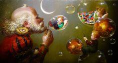 Burbujas creciente