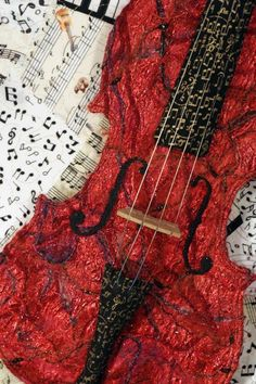 Red Violin, Loretta Alvarado