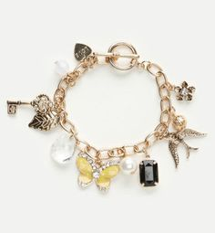 charlotte russe jewelry | Charlotte Russe's Cheer Up Bracelet Turns Your Frown Upside Down