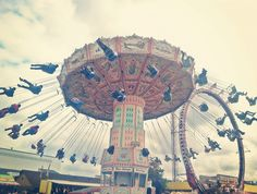 Pretty pastel swings at the Fair by eg2006, via Flickr