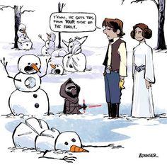 Star Wars Meets Calvin and Hobbes Comics – Fubiz Media