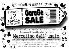 12 Aprile 2014 - Garage Sale