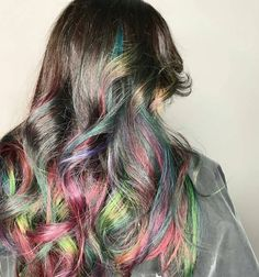 Celebrate Bonfire night by doing something extra special and dye your locks one of these fireworks-inspired hair colour styles! | All Things Hair - From hair experts at Unilever