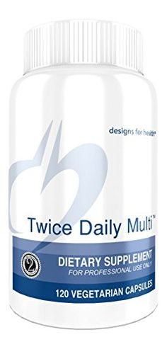 Designs for Health - Twice Daily Multi, 120 Vegetarian Capsules -- Visit the image link more details.
