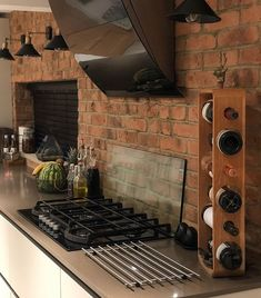 Rustic Red Brick Slips without the Lime