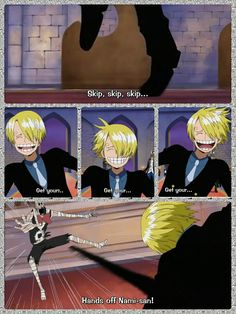 Sanji, zombie, text, quote, comic, funny, Thriller Bark, One Piece; Photo Collages