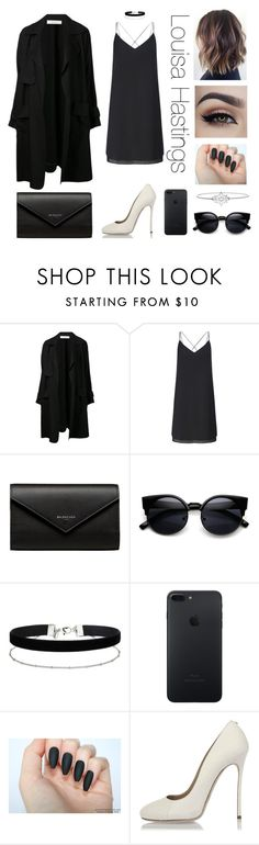"""""""Amour - Capítulo 2"""" by waseleve on Polyvore featuring A.L.C., Miss Selfridge, Balenciaga, Dsquared2 e LA Rocks"""