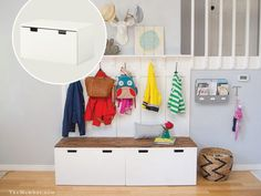 14 genius Ikea hacks to help you get organized: DIY entryway solution