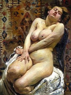 "chimneyfish: "" Nana, 1911 Lovis Corinth """
