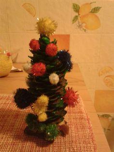 Mit viel Liebe gestalteter Weihnachtsbaum