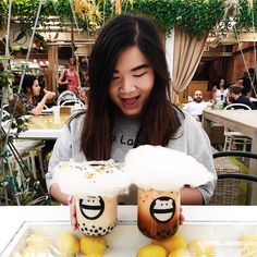 #Repost @chelsialai Thinking about summertime weather and how I happy I was with all this boba. #throwback