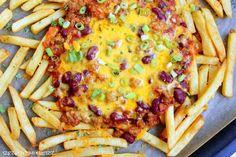 Rezepte mit Herz ♥: Chili Cheese Fries ♡