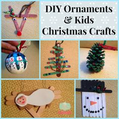 DIY kids ornaments h