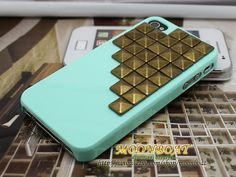 Phone Hard Case Cover  With Brass Stud by moonboat    Just bought this <3