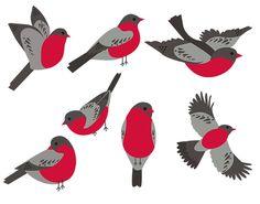 Clay Birds, Felt Birds, Bird Crafts, Paper Crafts, Art For Kids, Crafts For Kids, Winter Art Projects, Bird Quilt, Origami Art