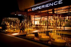 'royal rice field' by apostrophy's at SCG experience building in thailand