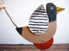 atelier pour enfants: canard à roulette