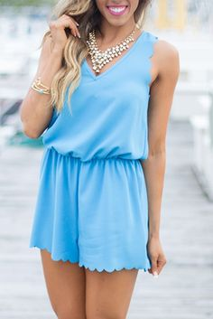 Poolside All Day Romper