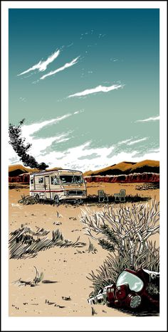 The Cook, by Tim Doyle | 25 Best Pieces Of Breaking Bad Fan Art