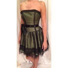 87876f4060 Jessica McClintock Dresses   Skirts - Green and Black Jessica McClintock  Dress Jessica Mcclintock