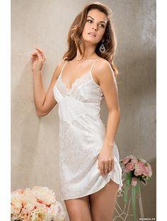 Ночная сорочка НАТАЛИ 9611 искусственный шёлк