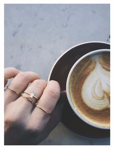 The cool girl's guide to stacking rings